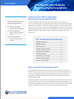 ETL Acceleration Suite image