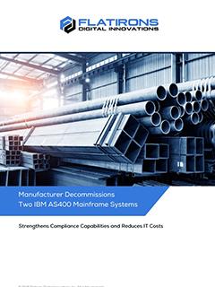 steel manufacturer case study image