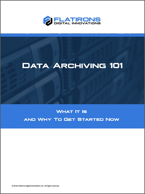 Data Archiving 101 white paper