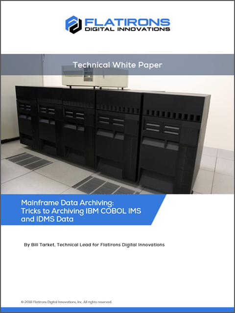 Mainframe Data Archiving white paper