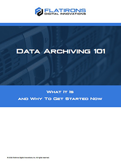 data archiving 101 white paper image