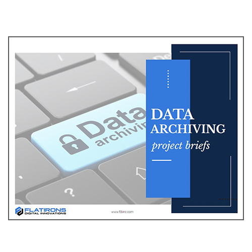 Data Archiving Project Briefs