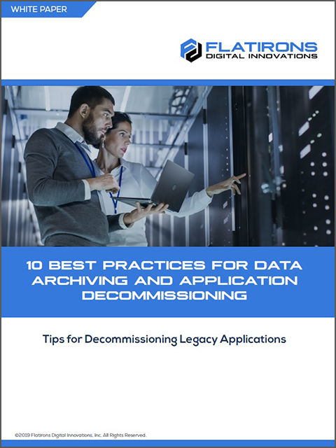 10 Best Practices for Data Archiving and Application Decommissioning