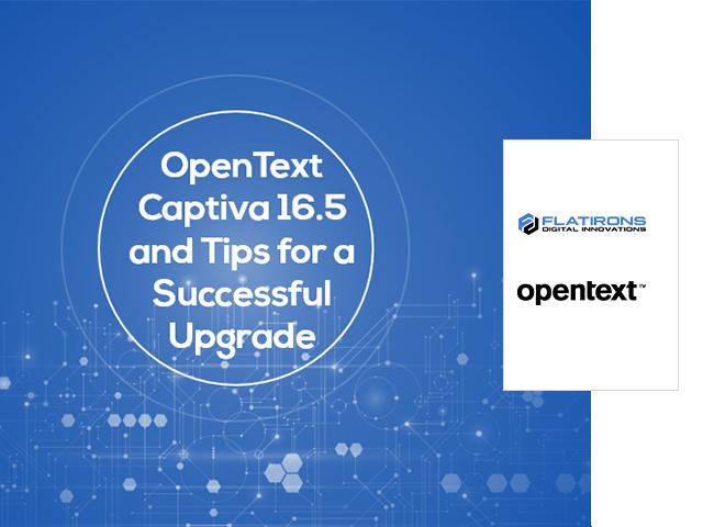 OpenText Captiva 16.5 webinar image