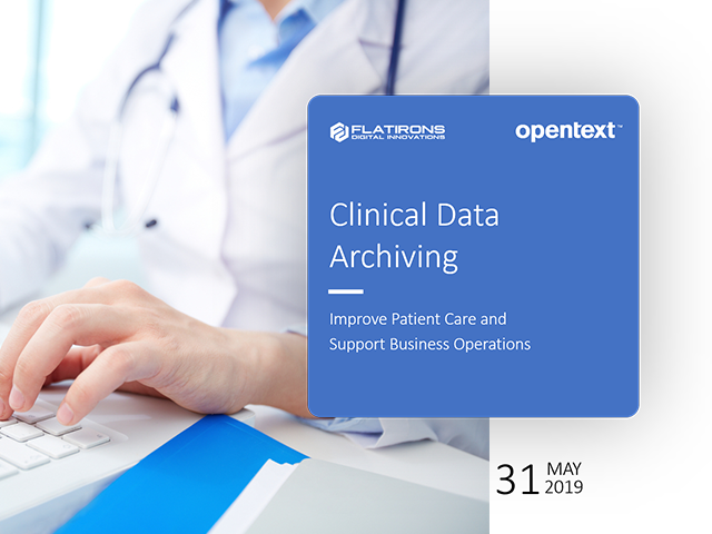 Clinical Data Archiving on-demand webinar