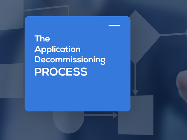 application decommissioning process