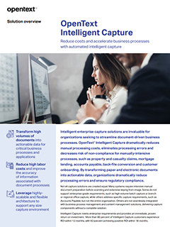 OpenText Intelligent Capture image