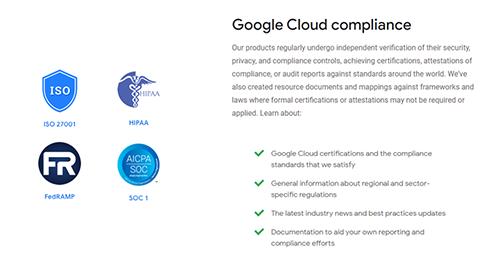 Google Compliance