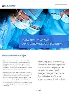 data archiving for healthcare image