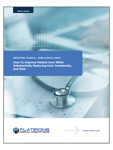 healthcare data archiving white paper image