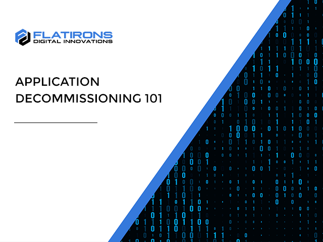 application decommissioning 101 video title image