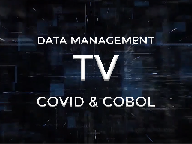 data management tv covid and cobol image