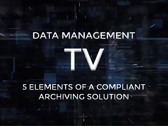 data management tv compliant archiving image