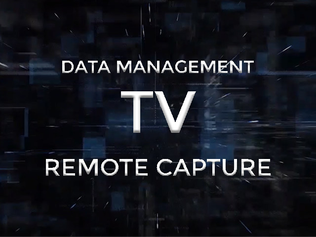 Data Management TV Remote Capture image
