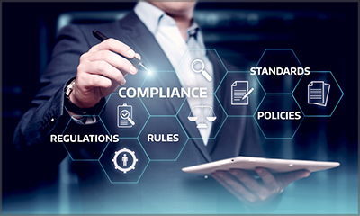 compliance policy concept image