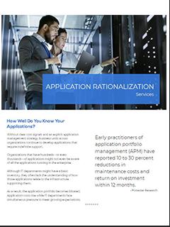 data sheet application rationalization image