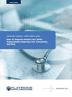 best practices in healthcare data archiving image