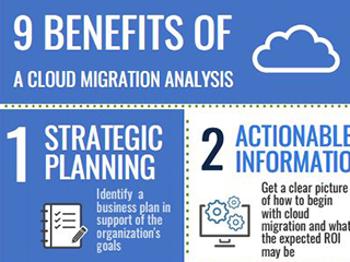 9 benefits of a cloud migration analysis image