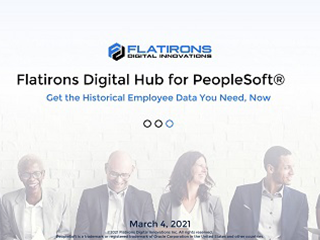 Flatirons Digital Hub for PeopleSoft Launch Event