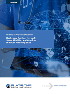 Healthcare Archiving Case Study Image