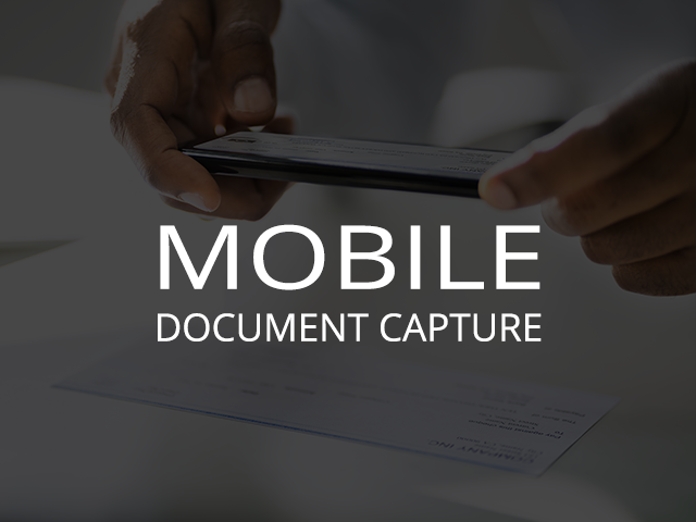 Mobile Document Capture Title